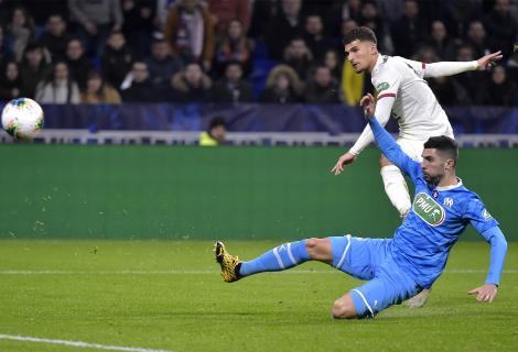 Olympique Lyon în semifinalele Cupei Franţei, după 1-0 cu Marseille în sferturi