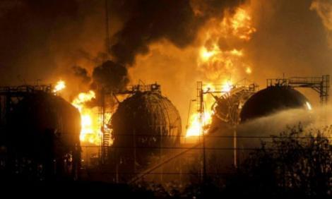 Explozii uriașe în SUA. Deflagrațiile s-au produs la o uzină chimică