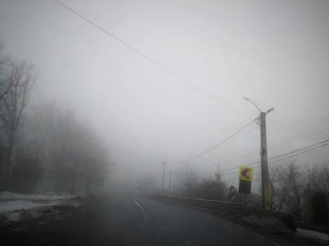 Cod galben de ceaţă, în patru judeţe
