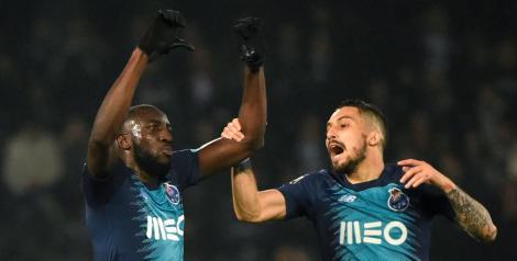 Marega (FC Porto) a părăsit terenul din cauza rasismului publicului la meciul cu Vitoria Guimaraes