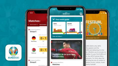 Peste un milion de bilete pentru Euro-2020 vor fi distribuite către telefoanele mobile ale suporterilor