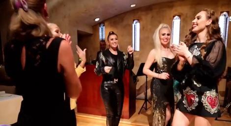 Anamaria Prodan a dansat de-a rupt pe o manea a lui Vali Vijelie! L-a sărutat pe Reghe și a făcut cel mai sexi dans! Video