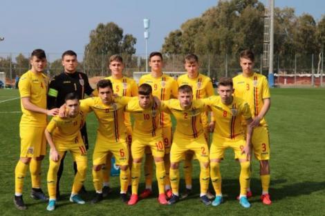 România U17, remiză cu Israel într-un meci de pregătire