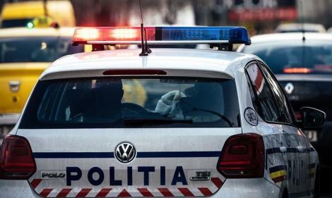 Tânăr din Brăila, audiat de poliţişti după ce a provocat un scandal într-o unitate bancară şi a distrus mobilierul