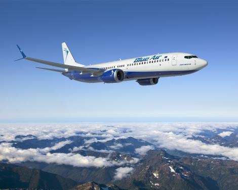 Blue Air transferă zborurile de pe aeroportul din Bacău, în perioada 15 august – 30 septembrie