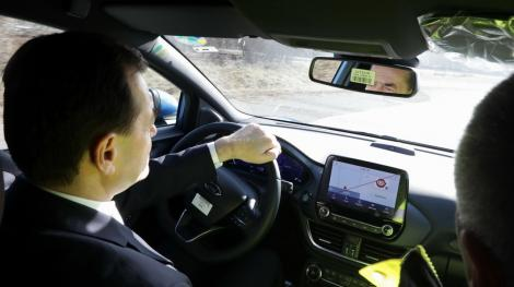 Ludovic Orban a primit amendă în trafic, pe autostrada A1! Ce i-a spus polițistului care l-a sancționat