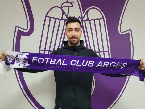 FC Argeş l-a transferat pe fundaşul Mihai Leca