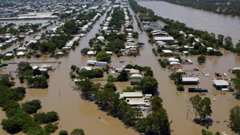 După Iad, a venit Potopul, în Australia. Ploile torențiale și inundațiile fac prăpăd