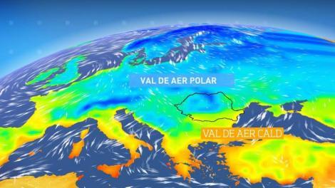 Încă un val de aer cald peste România! 20 de grade în aproape toată țara, începând de luni