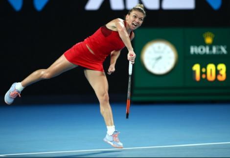 Simona Halep joacă, astăzi, contra Elenei Ribakina, pentru un al doilea titlu la Dubai şi al 20-lea trofeu în circuitul WTA