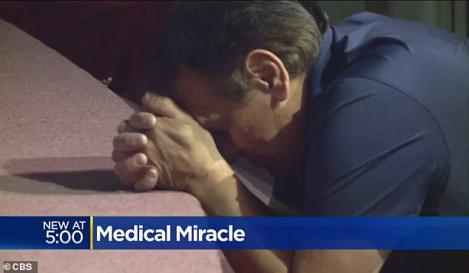 S-a vindecat de tumoare pe creier, în mod miraculos, după ce preotul împreună cu toți enoriașii s-au rugat pentru el
