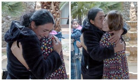 O româncă de etnie romă, traficată la naștere, și-a întâlnit părinții după 25 de ani! Momentul, filmat! Cum i s-a schimbat destinul - Video