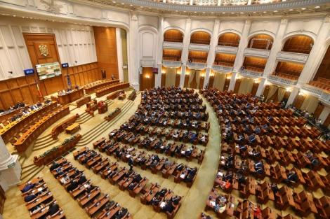 Şedinţa conducerii Camerelor în care ar fi trebuit decisă data dezbaterii moţiunii de cenzură a fost anulată, din cauza absenţei PSD