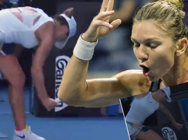 Simona Halep a fost amendată pentru ieșirea nervoasă de la Australian Open. Ce sumă are de plătit