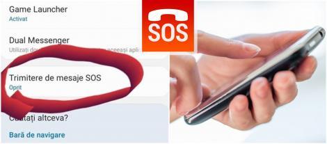 Cum să îţi setezi telefonul pentru a-ți salva viața: Mesaje SOS în situații de risc