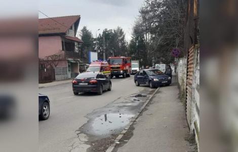 Bunicul la volan! Un șofer de 90 de ani a făcut prăpăd pe străzi! O tănără de 28 de ani, rănită, a ajuns la spital