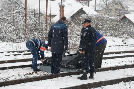 Accident feroviar teribil! Un tânăr de 19 ani a fost spulberat de tren.Traficul feroviar între Arad şi Timişoara este blocat