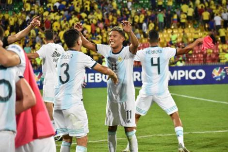 Argentina s-a calificat la turneul olimpic de fotbal de la Tokyo