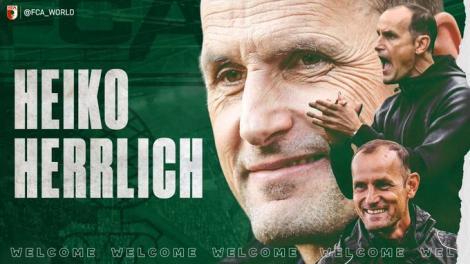 Heiko Herrlich este noul antrenor al echipei FC Augsburg