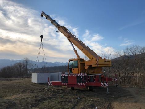 CNAIR: A început organizarea de şantier pentru construcţia secţiunii 1 a Autostrăzii Sibiu-Piteşti