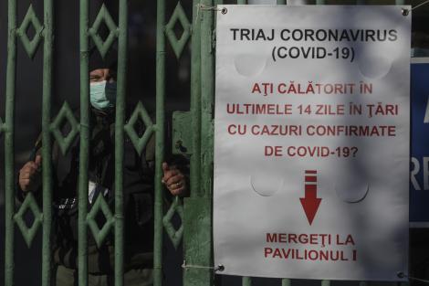 Un bărbat cu simptome de coronavirus a murit la Spitalul din Pitești. Pacientul, testat pentru Covid-19 după deces