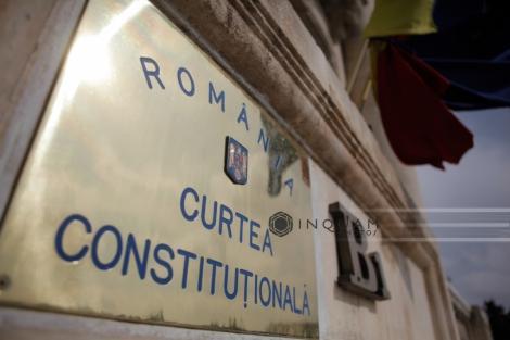 Curtea Constituţională discută sesizarea Avocatului Poporului privind OUG pentru alegerile anticipate