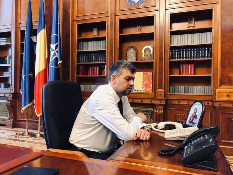 Marcel Ciolacu, după consultările cu Klaus Iohannis: PSD va acţiona responsabil