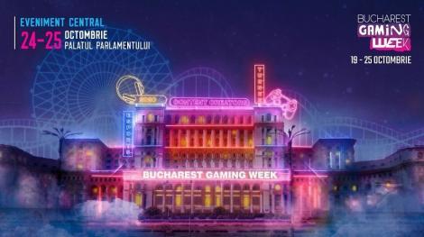 Bucharest Gaming Week va avea loc în perioada 19-25 octombrie. Evenimentul central, găzduit la Palatul Parlamentului
