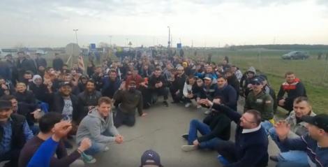 Peste 3.500 de români, între care și familii care au copii mici, blocați la granița dintre Austria și Ungaria. Ce spune ministerul de Externe