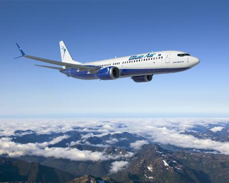 Blue Air suspendă zborurile regulate începând cu data de 21 martie