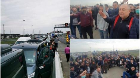 Noi detalii despre românii blocați în mașini la granița dintre Austria și Ungaria. Ce decizie au luat autoritățile maghiare