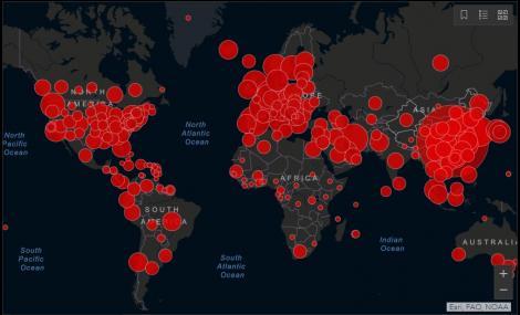 A fost depășit pragul de 200.000 de cazuri de infectare cu Covid19 în lume. Au fost întregistrate 8.000 de decese și 82.000 de vindecări la nivel mondial