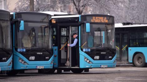Bărbat suspectat de coronavirus, descoperit într-un autobuz din București! A început să tușească și spune că are amețeli