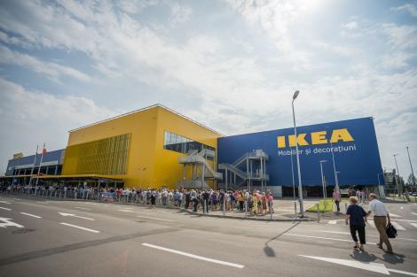 IKEA România închide temporar magazinele începând de vineri, de la ora 18:00