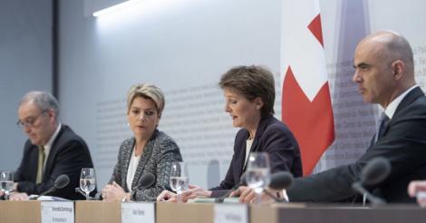 """Elveţia înăspreşte măsurile împotriva noului coronavirus şi respinge orice izolare a populaţiei drept un """"show politic"""""""