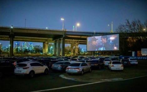 Cinema în aer liber, succes în Coreea de Sud