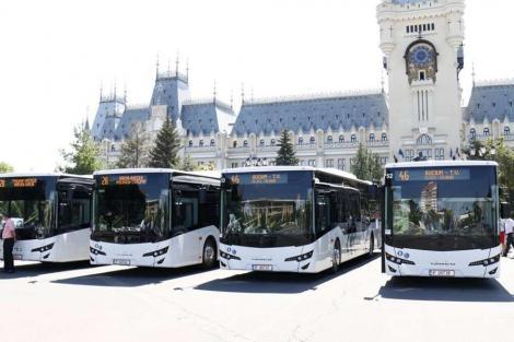 Utilizarea transportului public de călători, interzisă în Iași, cu câteva excepții. Ce trebuie să știe românii