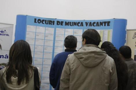 INS: Rata şomajului în formă ajustată sezonier a scăzut în ianuarie la 3,9%