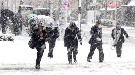 Val de aer polar în România! Două anotimpuri într-o singură săptămână! Unde revin ninsorile și ploile, în următoarele zile