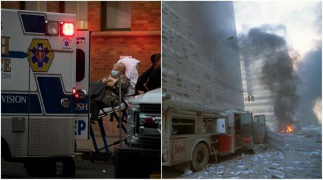 """""""Nu știu câți vor supraviețui"""" Ziua în care numărul apelurilor la urgență a bătut recordul negru de la atentatele teroriste din 11 septembrie 2001"""