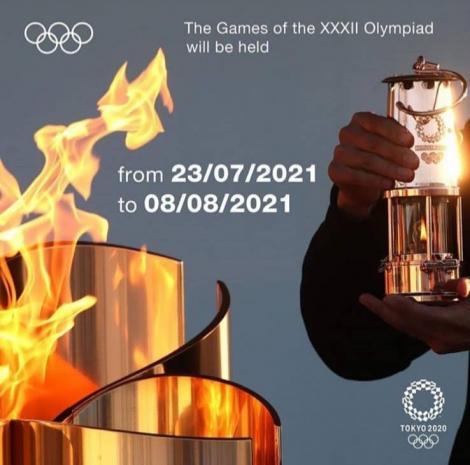 CIO: Jocurile Olimpice amânate în 2021 se vor numi JO-2020