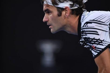 Federer se antrenează pe ninsoare, în Elveţia