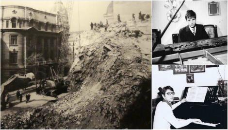 """""""Tudorel al meu! Sâmbătă aveai concert..."""". De sub un pian, excavatorul scoate un trup firav. Avea 19 ani și a murit singur, strivit de greutatea unui bloc întreg: """"L-am găsit"""""""
