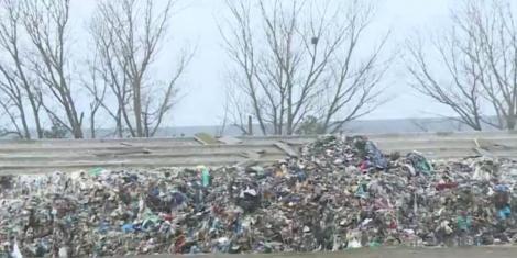 În plin scandal al deşeurilor, 250 de tone de gunoaie au fost arse noaptea trecută ilegal la Medgidia
