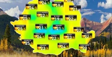 Intrăm direct în vară, vin temperaturi foarte mari! ANM a publicat prognoza meteo între 9 martie și 6 aprilie