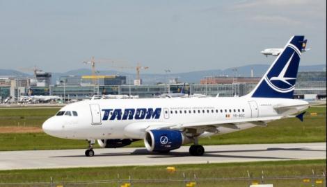 Un avion Tarom a fost lovit de fulger. Aeronava a decolat de urgență