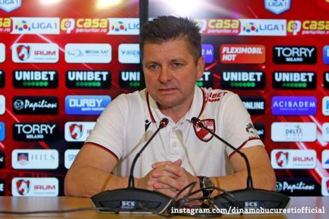Dusan Uhrin şi-a reziliat contractul cu Dinamo