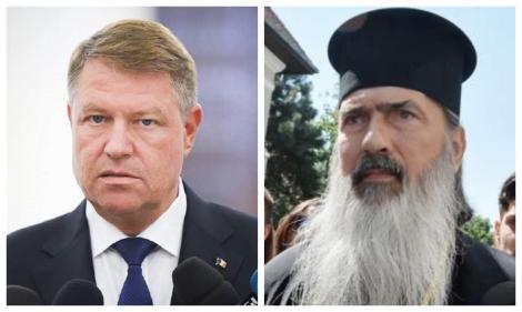 """Klaus Iohannis, mustrat de IPS Teodosie! """"Este ca un soi de blestem. Să nu se mai facă astfel de afirmaţii"""""""