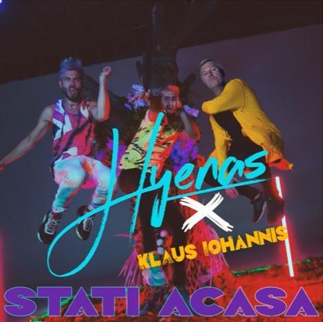 """""""Stați acasă!"""", îndemnul lui Klaus Iohannis, remixat pe beat-uri dance de trupa Hyenas-VIDEO"""
