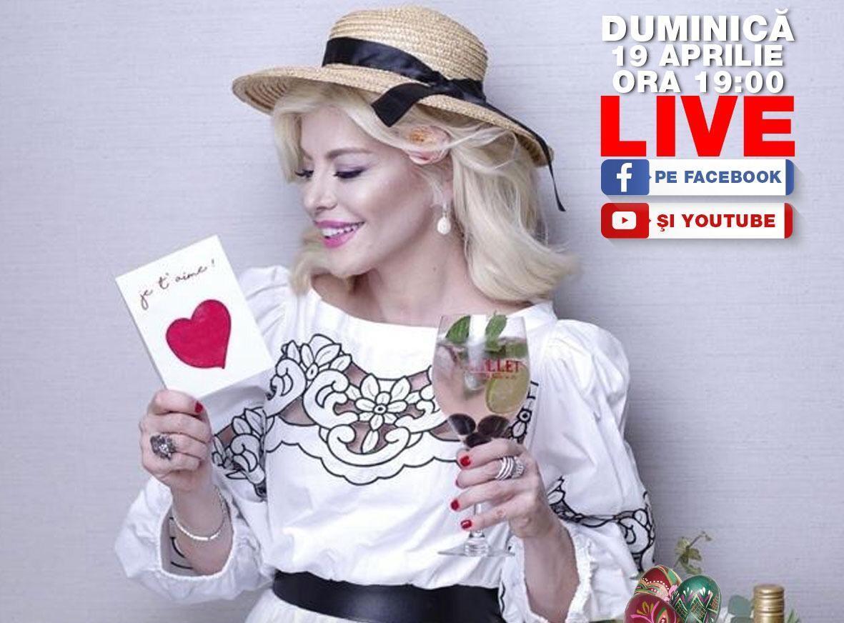 Loredana, concert-cadou pentru fani, în prima zi de Paște! Artista va intra live, de la ora 19:00 pe YouTube și Facebook, alături de Banda Agurida